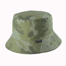Camoulfage Ripstop Fabric Fishing Hat with Two Sides Wear (GKA06-A00004)