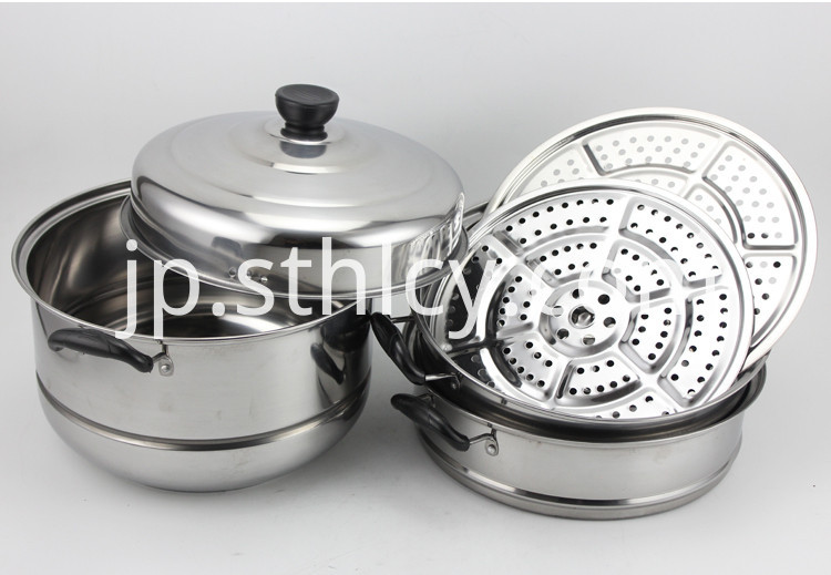 Large Stainless Steel Steamer Pots
