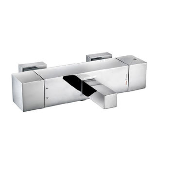 Mélangeur de douche de bain chromé de luxe nouveau robinet de design en vente chaude