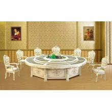 Hotel modern wooden banquet dining table