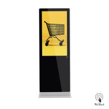 Panneau d'affichage de signalisation numérique de 49 pouces pour supermarché