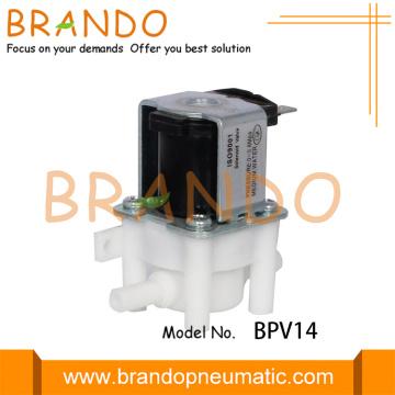Válvula solenóide de osmose reversa de plástico de tomada de 6,35 mm