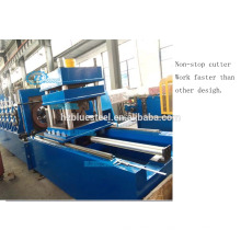 No Stop C Z U Lip Channel Making Purlin Roll Forming Machine