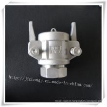 Conector rápido Kja de aço inoxidável