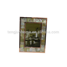 Decorative resin ornate pictures frames seashell mosaic