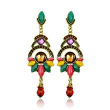 Trendy Bohemia Style Resin Stone Earring (XER13089)