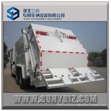 HOWO 6X4 Kompressionstyp Müllwagen / Müllkompressionswagen