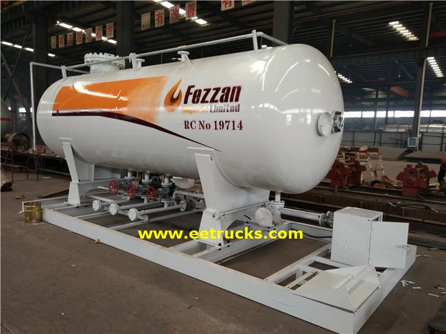 5000 Gallon LPG Skid Filling Stations