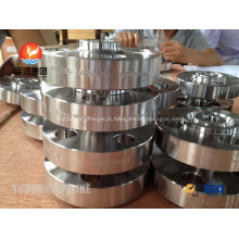 Soldagem de Flanges de pescoço ASTM A182 F51 UNS S31803