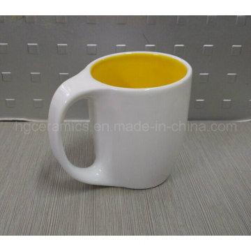 Nouvelle tasse de café, tasse de café de poignée courbée