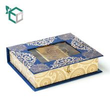 Categoría alimenticia clásica de la forma del libro del diseño del fabricante de China dentro de la caja de empaquetado de la trufa de chocolate