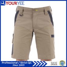 100% algodón de lona de carga estilo trabajo cortos para hombres (ygk113)