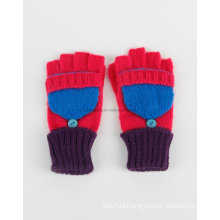 Promotion Knitted Acrylic Warm Gloves/Mittens with Pocket