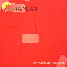 Heat resistant mica thin sheet