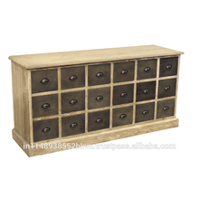 Industrial Look 18 Drawer Chest Furniture