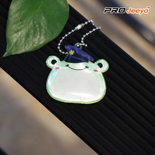 High Visibility Safety Frog Shape PVC Pendant