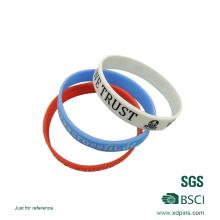 Fornecedor de China de pulseiras de silicone de cores diferentes