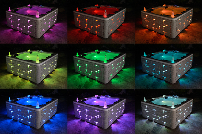 led light spa