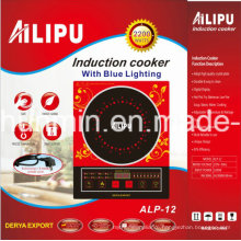 2200W Induction Cooker with Blue LED and Voice Function Model ALP-12