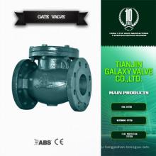 Серый железный обратный клапан качели типа сделано в Китае