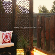 Custom Decorative Laser Cut Outdoor Screen