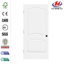 32 in. x 80 in. C2050 Primed 2-Panel Solid Core Premium Composite Single Prehung Interior Door