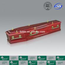ЛЮКСЫ деревянный гроб A60-GHP популярных австралийский стиль гроб для продажи