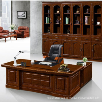 Büro-Tabellen-Exekutivgröße der Büromöbel der hohen Qualität Büromöbel hölzerne L-Form