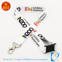 Promotion Customed Wholesale Polyester Lanyard (JN-D15)