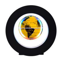 Small LED Floating World Globe on Stand