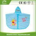 OME Plastic Pvc Kids girls rain poncho