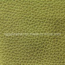 Couro respirável popular da mobília do plutônio (QDL-FB0050)