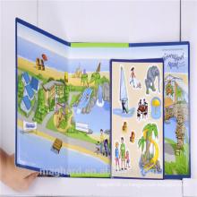Оптовый alibaba фабрика Кита сразу OEM магнитная книга головоломки, игрушка малышей