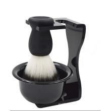 Men′s Shaving Set Shaving Brushes Stand Holder and Brush Set