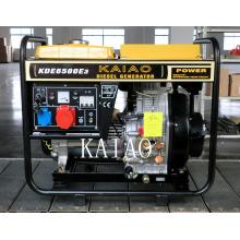 5kw 3 Phase Best Sold Diesel Generator Set 6500E3 Electric Start Open Frame