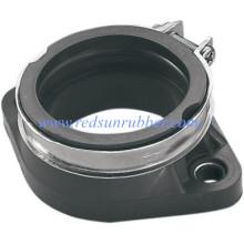 Custom Durable Metal Coated Rubber Flange Gasket