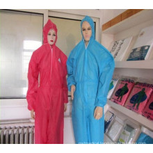 Disposable Coverall with Hood and Shoe Cover of Different Size