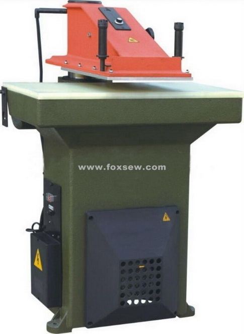 hydraulic-swing-arm-die-cutting-press-machine
