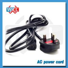 13A 250V BS british cable de alimentación de CA con fusible