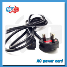 13A 250V BS british ac power cord with fuse