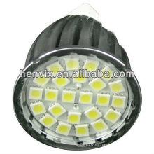 De alta calidad 2700k 4.6w gu10 led smd spotlight