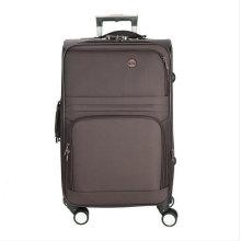 Poliéster suave incorporada Trolley Travel equipaje