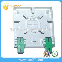 86Type 2 Port Fiber Optic Socket / Fiber Optic Terminal Box