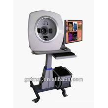 Espelho mágico 3D de alta qualidade 15 mega melhor analisador de pele com sistema de teste de pele RGB + UV + PL