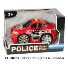 Police Car Lights & Sound