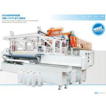 Máquina de la película del estiramiento en las extruidoras plásticas / LLDPE que estira la máquina de la película