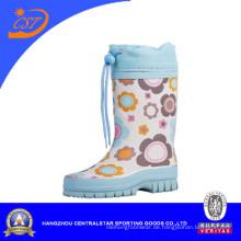 Leichte blaue Kinder Gummistiefel Regen 90309