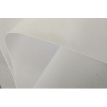 fusible interlining hdpe / collar de color blanco interlínea