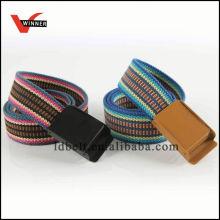 Customized fashion d-ring canvas belt