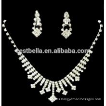Joyería nupcial de los collares blancos encantadores elegantes de la vendimia elegante 2016 para las mujeres